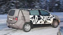 2011 Chevrolet Tacuma MPV spy photo
