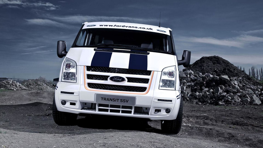 Ford Transit SSV unveiled
