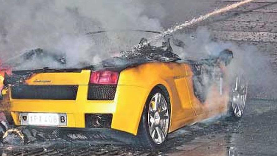 Burned Supercars - New fad?