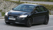 2011 Ford Focus Mule First Spy Photos