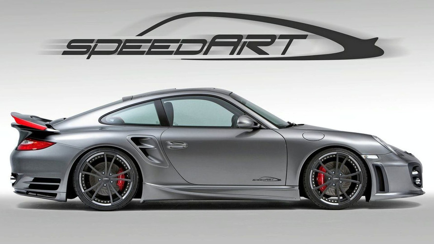 SpeedART BTR II 650 EVO Pumps Porsche 911 Turbo Facelift up to 650 hp