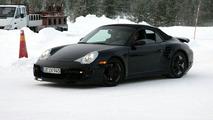 New Porsche 911 Turbo Cabrio spy photos