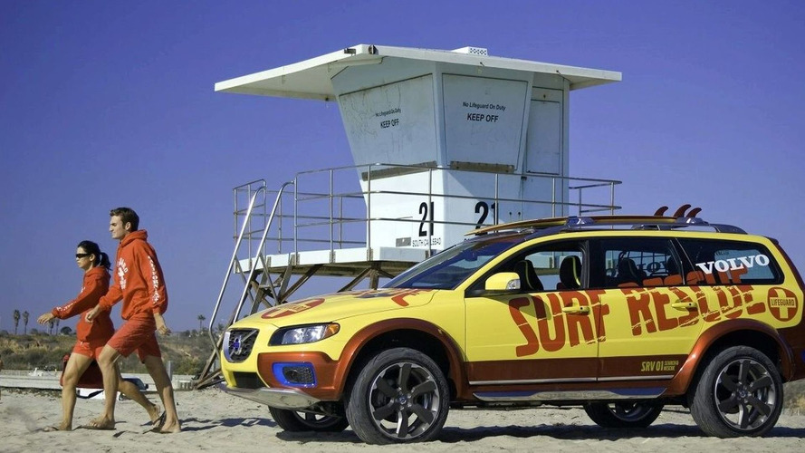 Volvo XC70 Surf Rescue Concept at SEMA