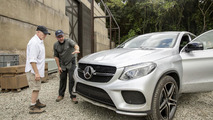 Mercedes GLE Coupe in Jurassic World
