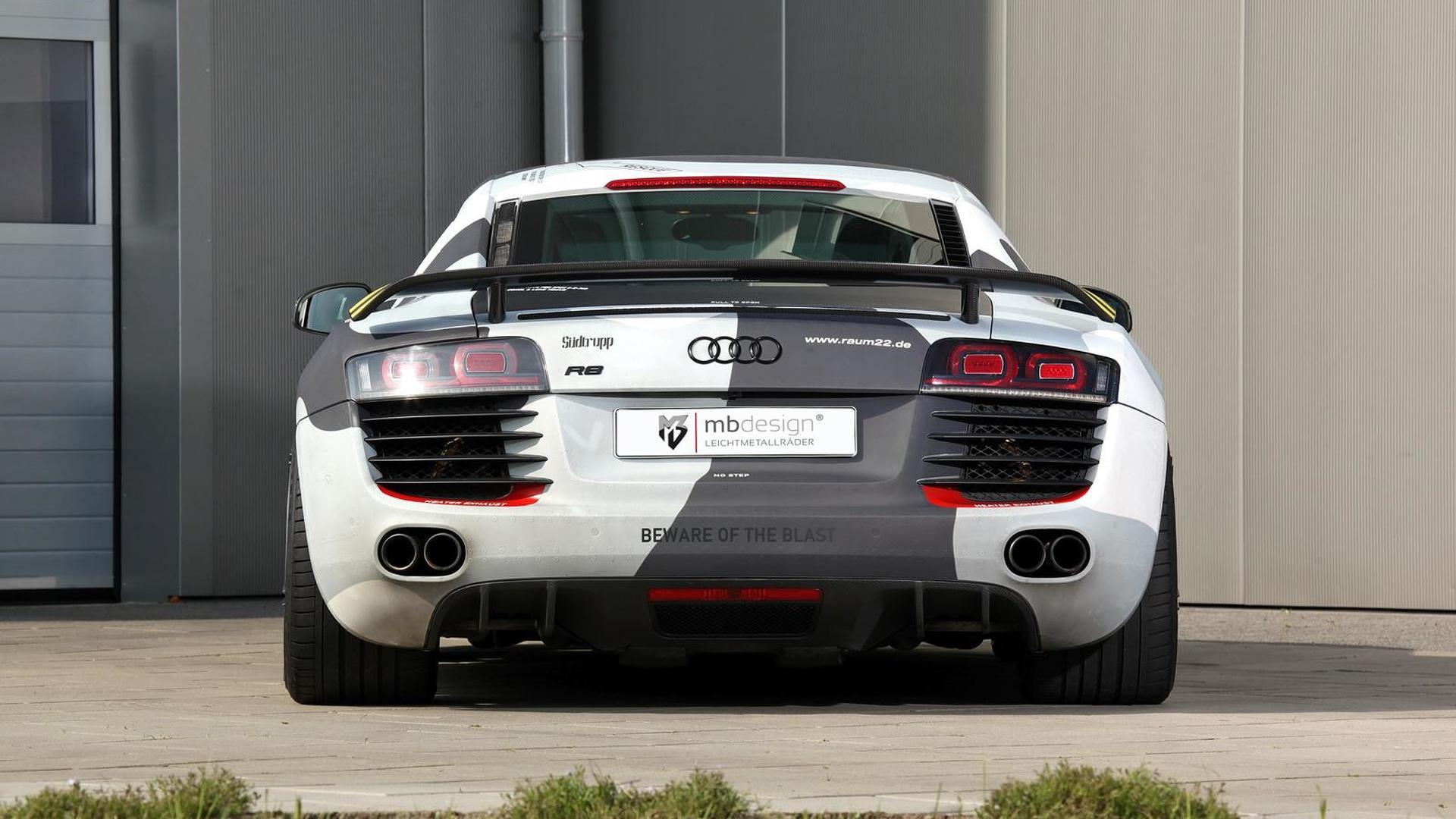 Винил камуфляж Audi R8 V8