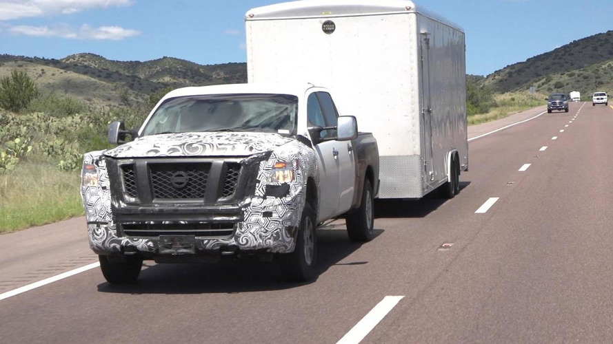 2016 Nissan Titan teased for Detroit [video]