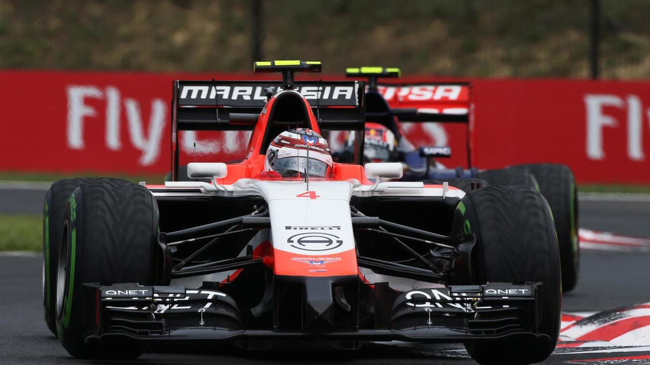 Max Chilton (GBR), Marussia F1 Team MR03 / XPB