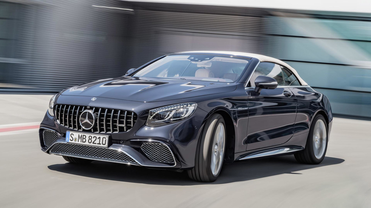 Refreshed 2018 mercedes s class cabriolet revealed for Mercedes benz s63 amg 2018