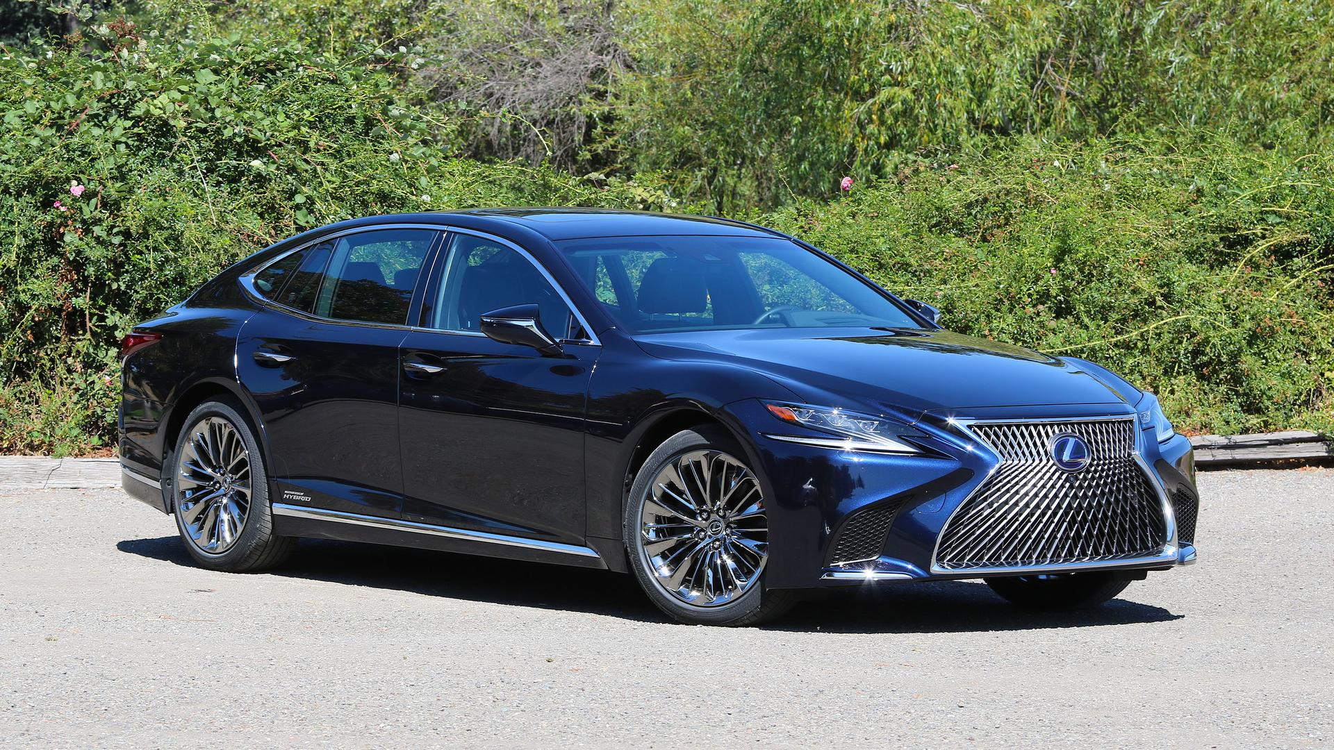2018 lexus ls 500h review because there has to be a hybrid. Black Bedroom Furniture Sets. Home Design Ideas