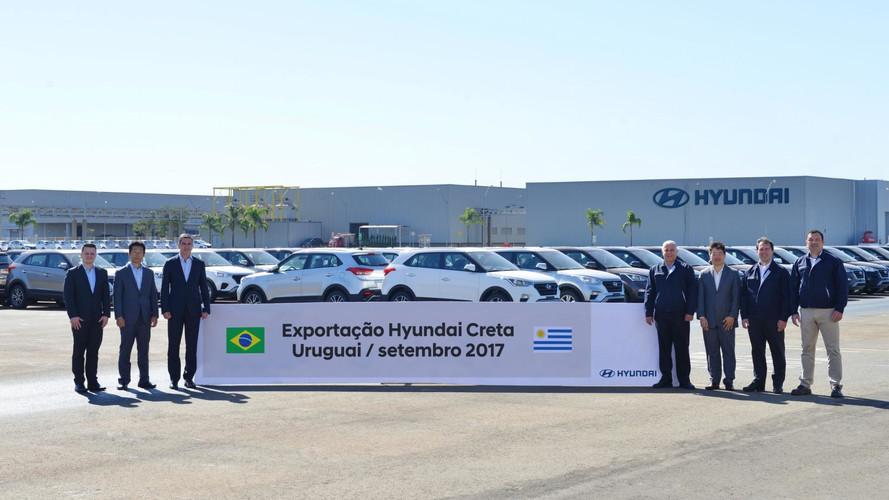Hyundai Creta também será exportado para o Uruguai