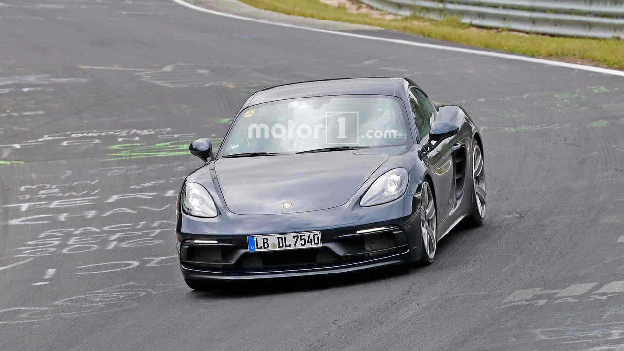 Porsche 718 Cayman GTS Spy Pics