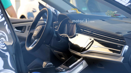 2019 Audi Q8 Interior Mostly Revealed In New Spy Shots