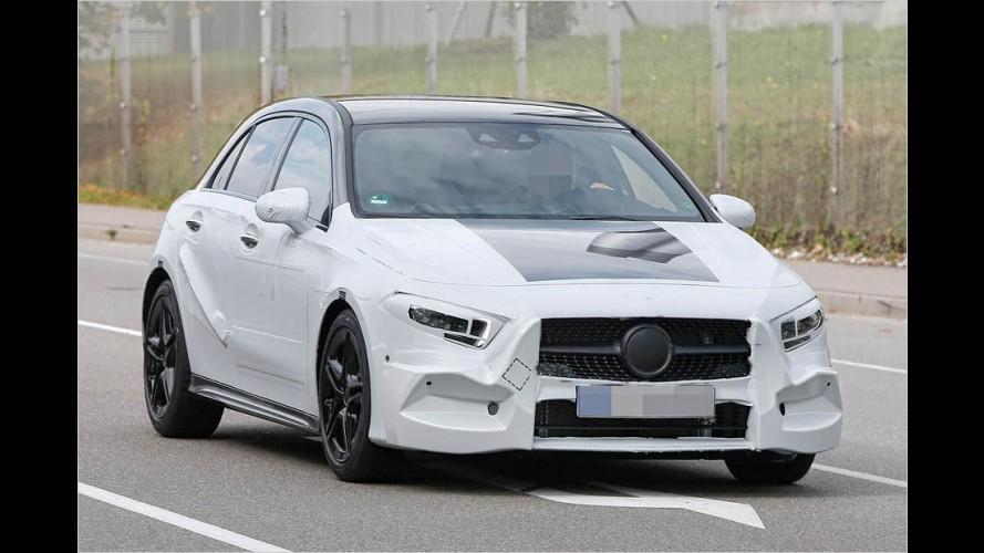 Erwischt: Hier fährt die neue Mercedes A-Klasse