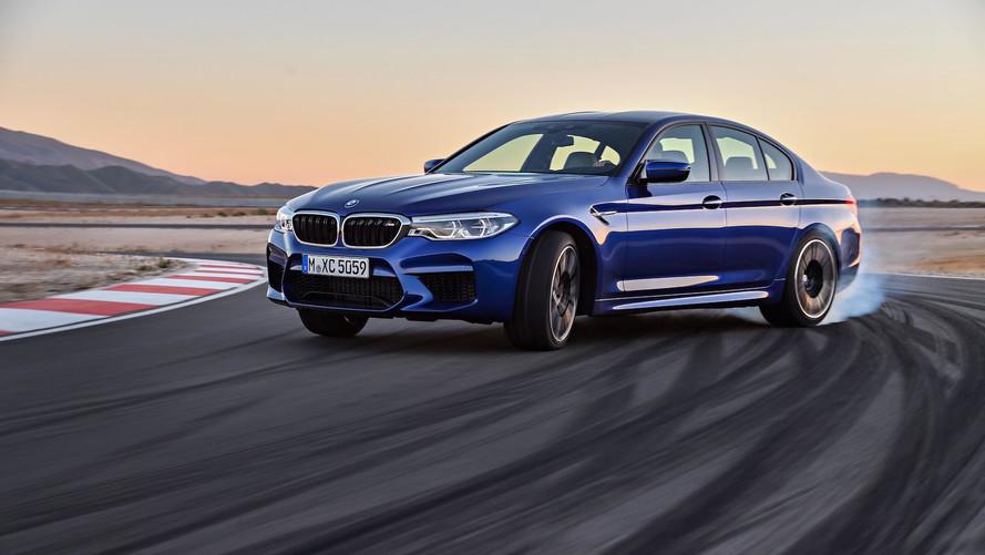 BMW M5 - Avec des pneus Pirelli P Zero sur-mesure