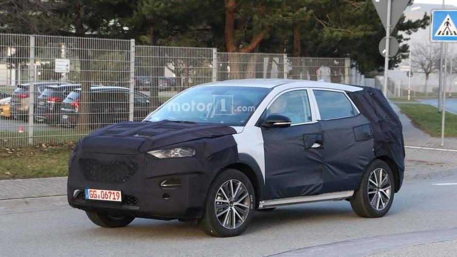 2019 Hyundai Tucson Facelift Spied On The Street