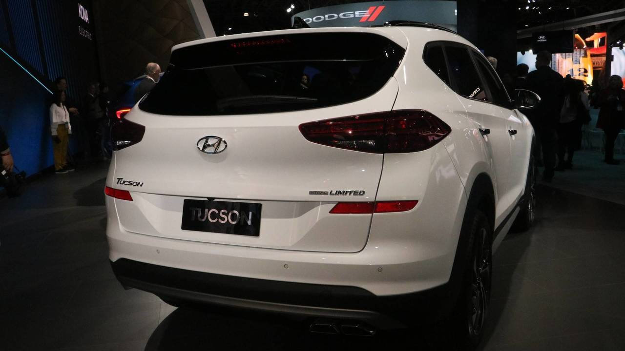 2019 Hyundai Tucson at the 2018 New York Auto Show