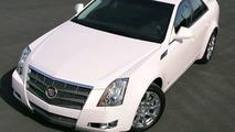 Pink Cadillac CTS