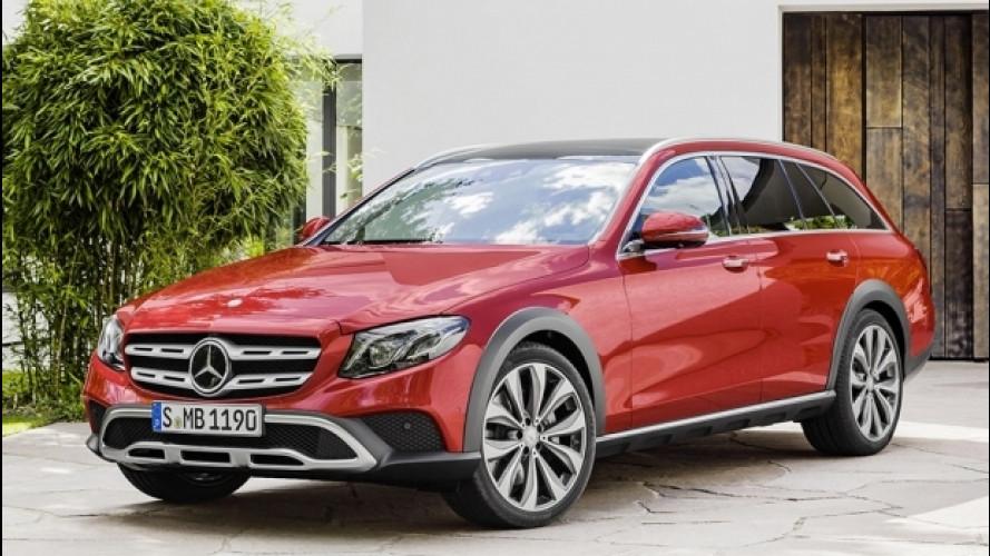 Mercedes Classe E All-Terrain, il lusso si infanga