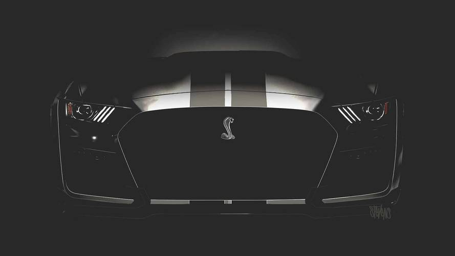 Ford Mustang GT500 Teaser