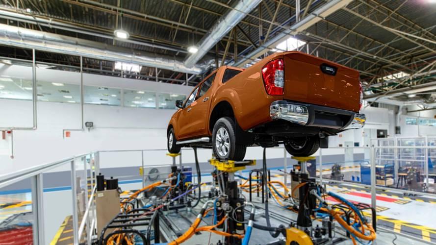 Nissan Frontier entra em fase final de pré-produção na Argentina