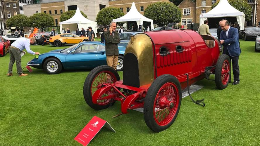1911 Beast of Turin overshadows supercars at London Concours