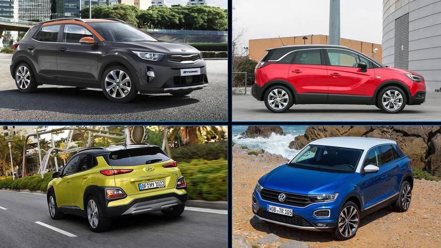 10 SUV urbanos con carrocería bicolor: marcando tendencia