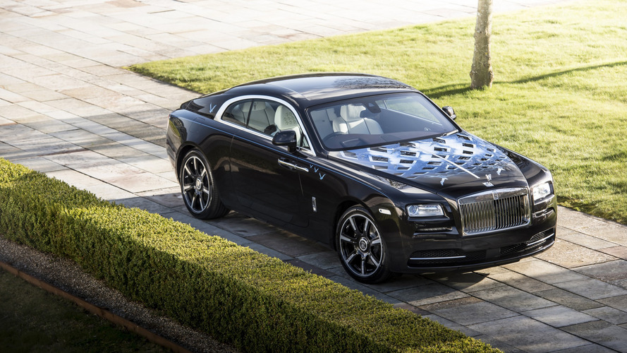 Rolls-Royce Unveils Quartet Of Wraith Coupes Inspired By British Music