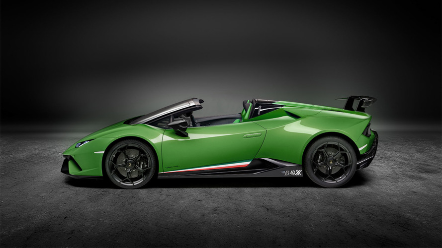 Lambo Huracan Performante Spyder Render Eases The Anticipation