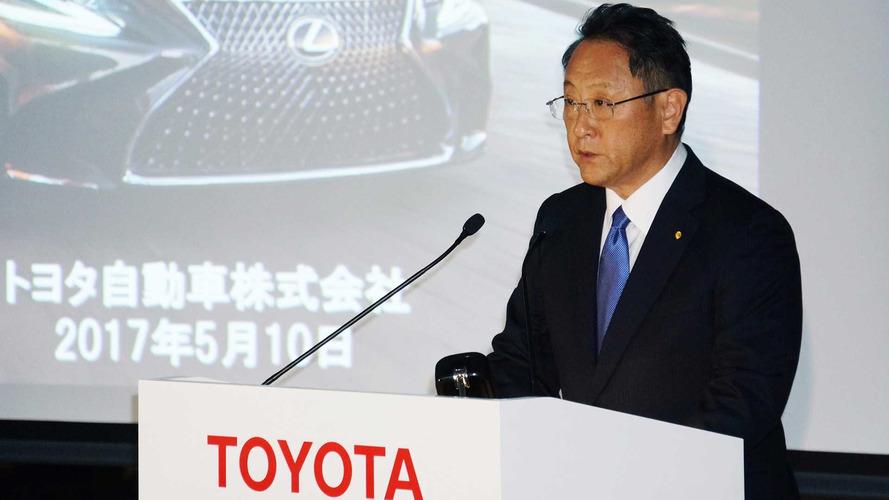 Tumbling Toyota Profits Give Company President 'Sense Of Crisis'