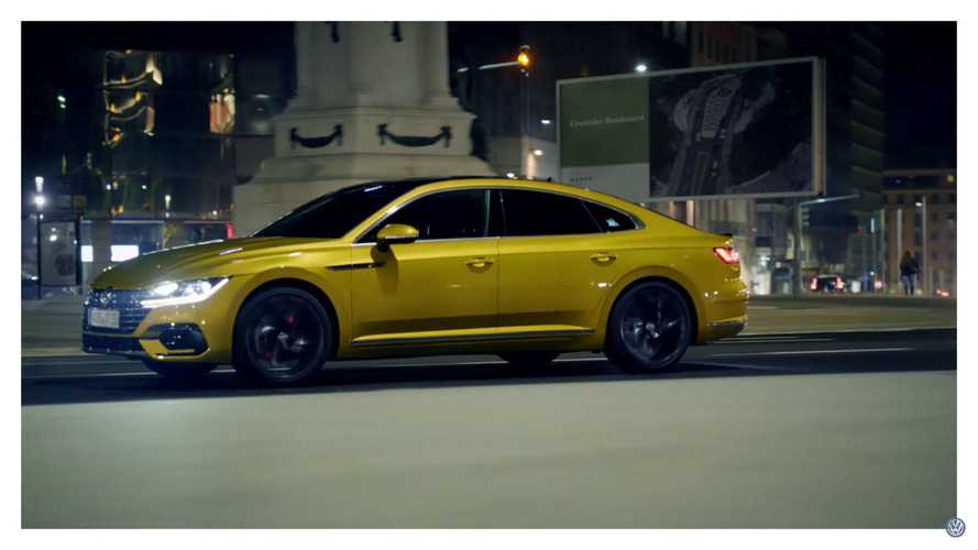 First VW Arteon promo video has us wanting more