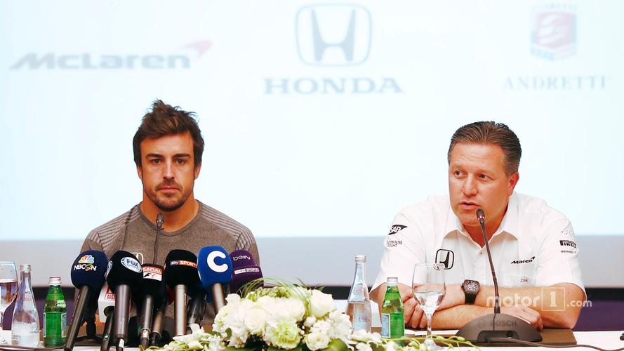 McLaren Says Alonso Indy 500 Idea Was Originally A Joke