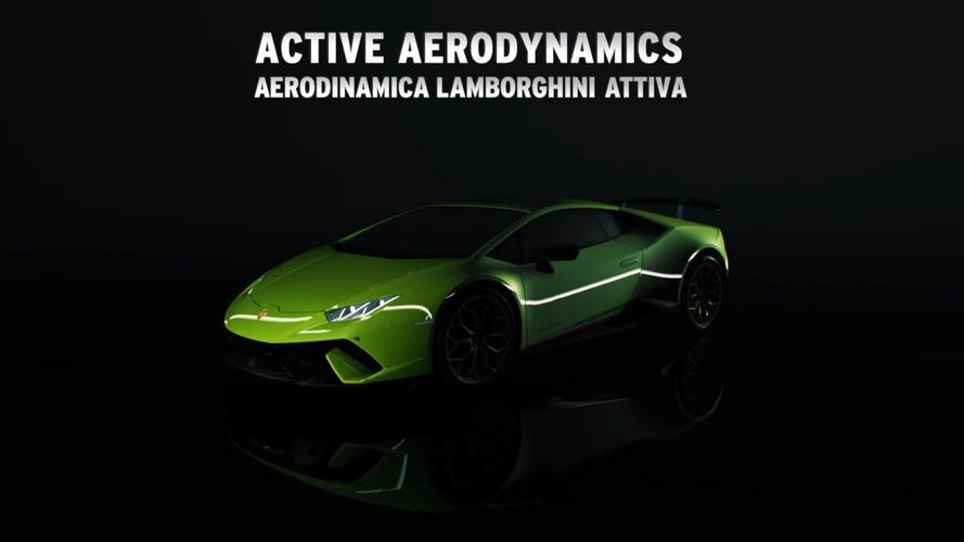 Aereodinamica Lamborghini Attiva Performante Promo Video