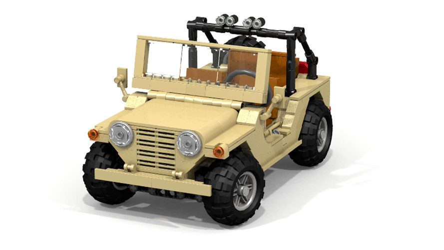 Military M151 MUTT Needs Your Support To Be Immortalized In Lego