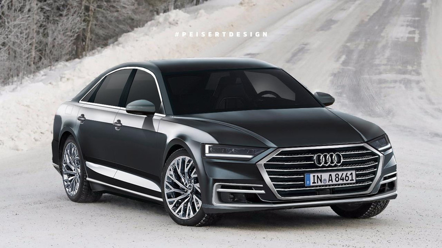 2018 Audi A8 Rendering Previews A Sharp-Looking Luxury Sedan