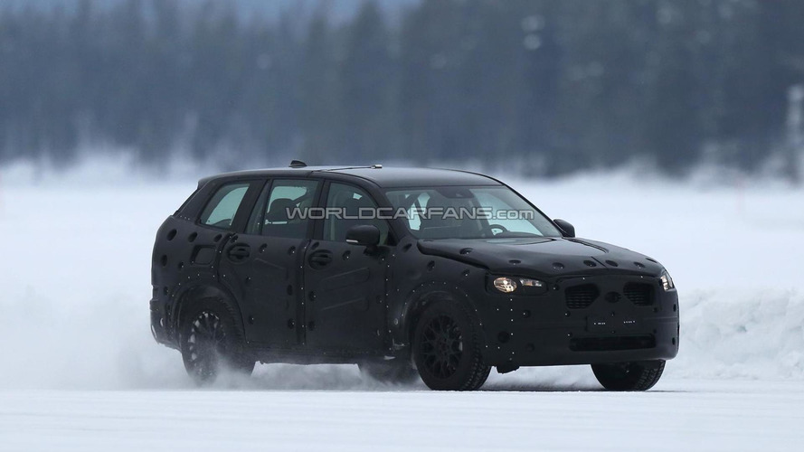 Next-gen Volvo XC90 spied near the Arctic Circle