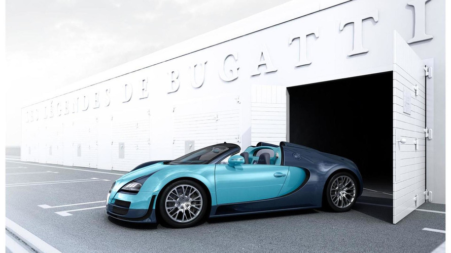 Bugatti Veyron Grand Sport Vitesse Legend Jean-Pierre Wimille special edition revealed