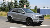2015 Mercedes-Benz MLC spied undergoing testing