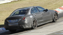 2014 Mercedes-Benz C63 AMG successor spy photo
