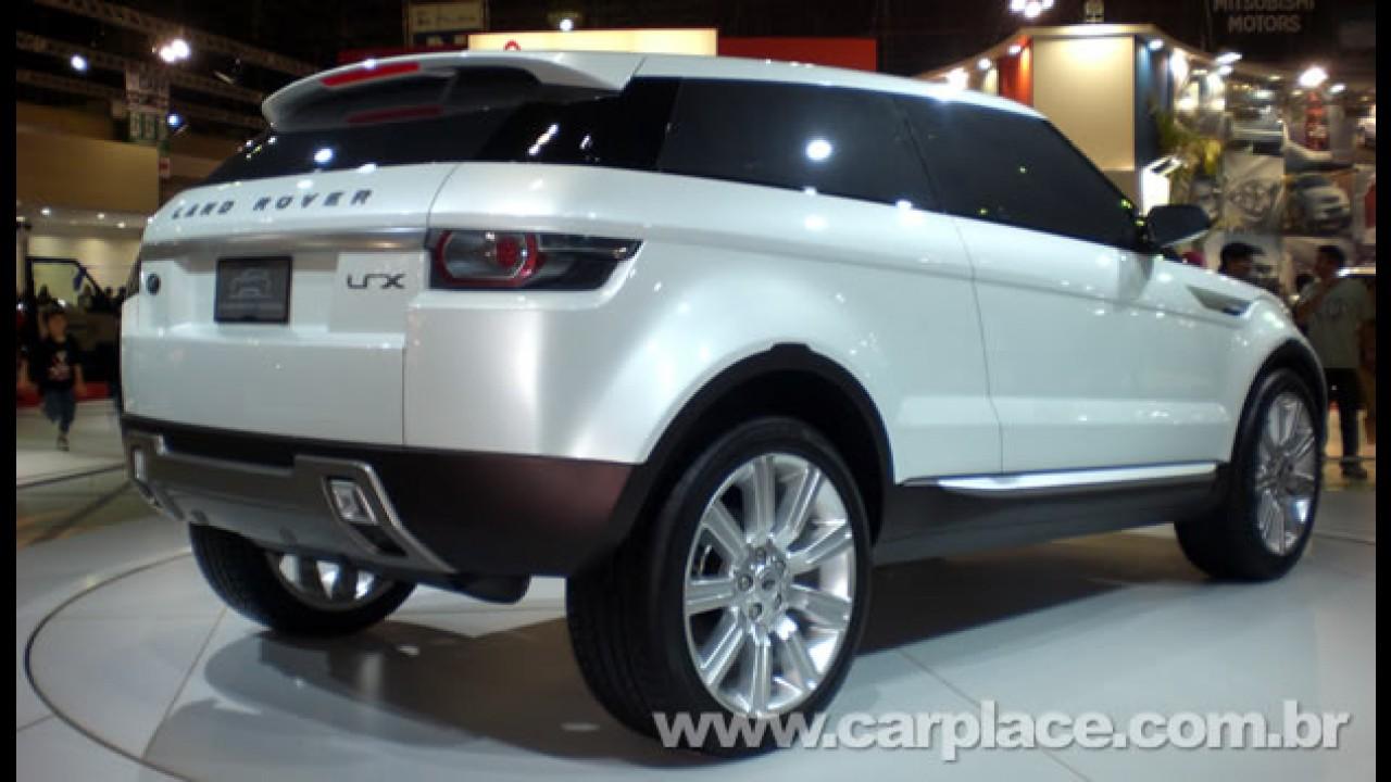 Land Rover LRX será apresentado oficialmente no ano que vem - Vendas começam em 2011