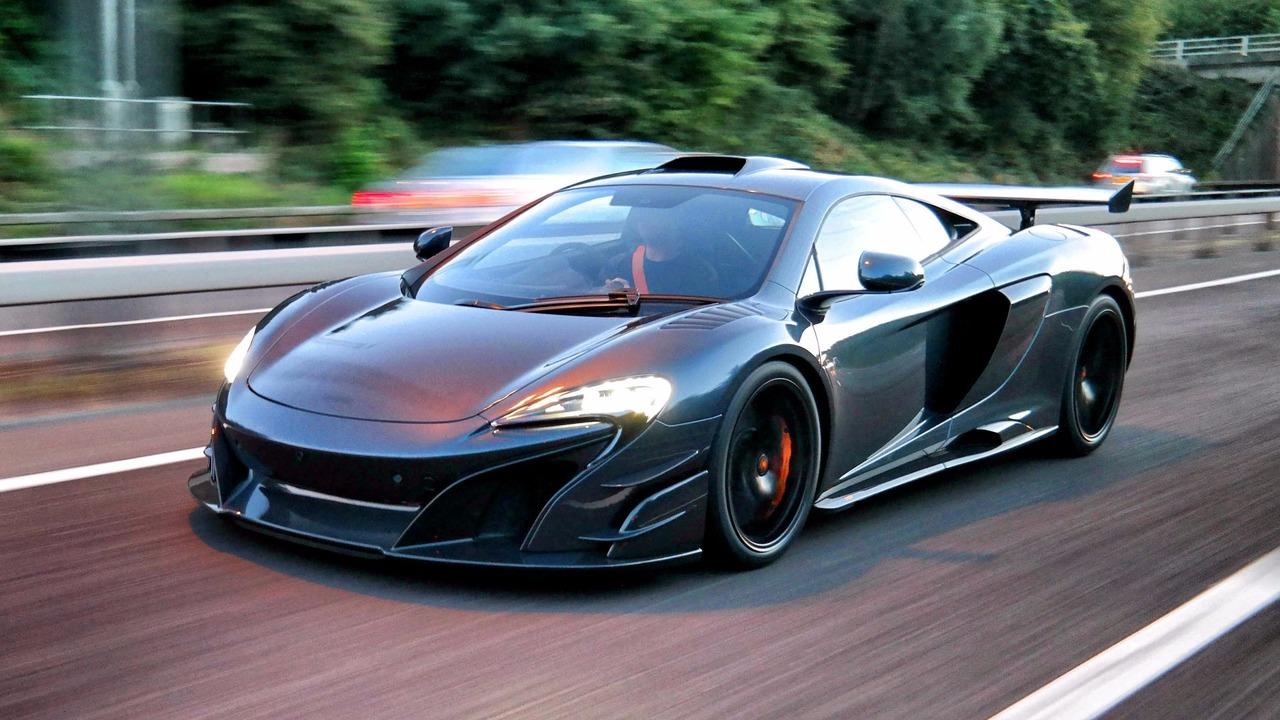 McLaren MSO HS delivery