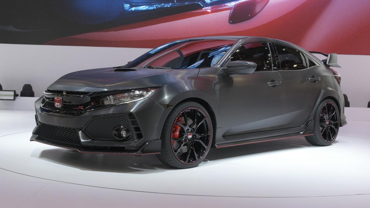 2017 Honda Civic Type R Prototype