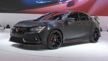 2017 Honda Civic Type R prototipi