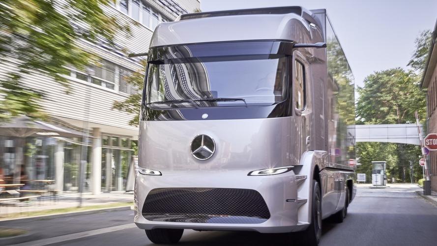 Mercedes Urban eTruck concept