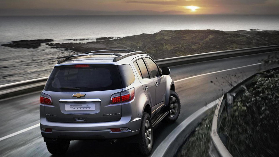 2013 Chevrolet Trailblazer revealed