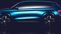 Skoda VisionS concept teaser