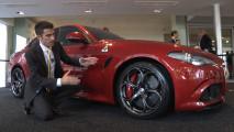 Alfa Romeo Giulia, vista dal vivo, fa questo effetto!
