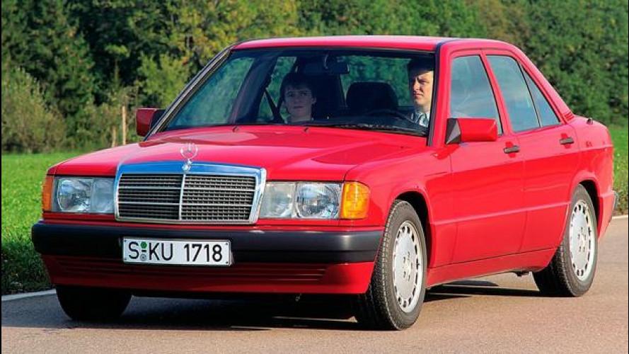 Mercedes 190, la baby Benz