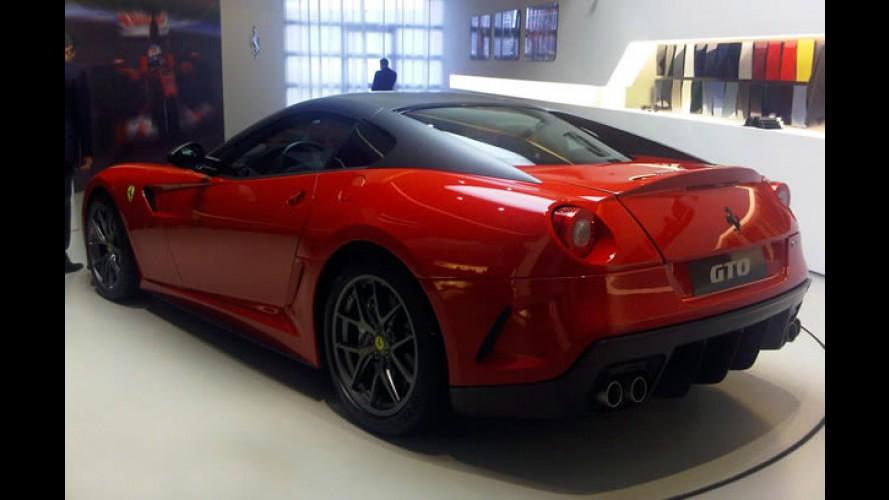 Vazou: Esta é a novíssima Ferrari GTO
