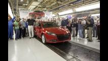 Dodge anuncia produção de primeira unidade do novo Dart - Vendas começam em junho nos EUA
