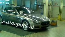 Maserati Quattroporte Facelift Spied Uncovered